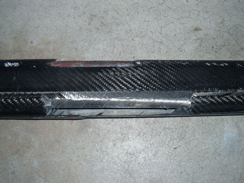 Carbon Fibre Spar Repairs
